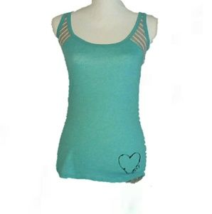 Roxy small Petit stripe blue spring causal tanktop